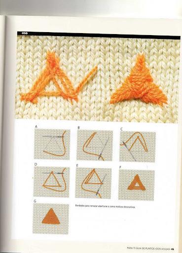 Crochet Knitting Handicraft Embroidery Fabric2