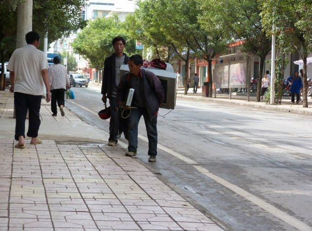 CHINE SICHUAN.XI CHANG ET MINORITE YI, à 1 heure de route de la ville - 1sichuan%2B798.JPG
