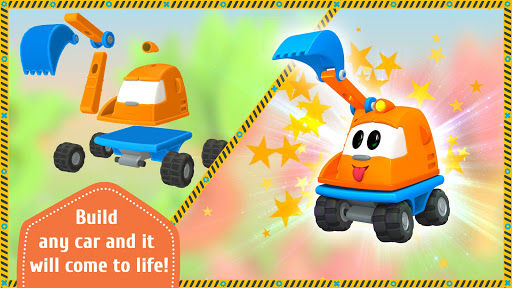 Leo the Truck and cars: Educational toys for kids screenshots 1