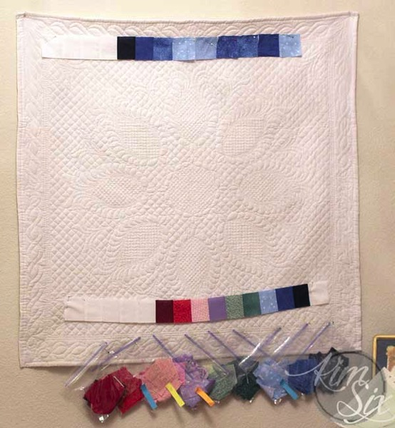 Assembling Daily Temperate Coded Quilt