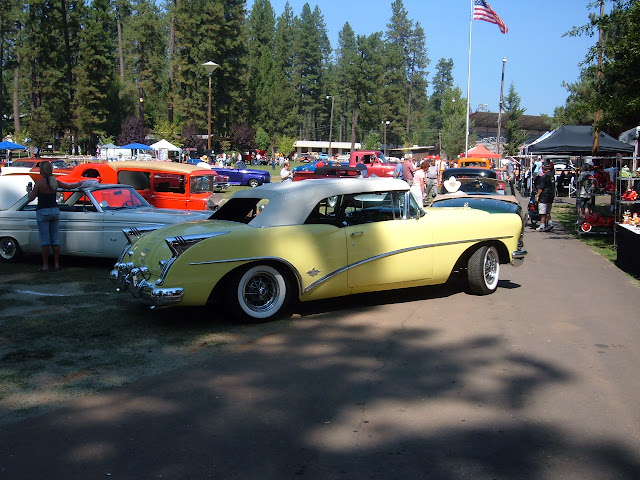 1954 Skylark at our Grass Valley car show.