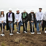 Curling Center Ground Breaking, October 2013
