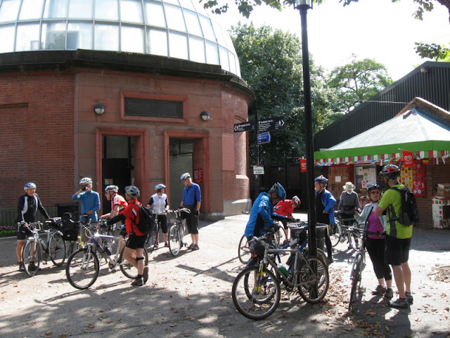 East Herts at Greenwich foot tunnel