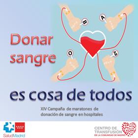 Las transfusiones de sangre ayudaron a más de 80.000 personas en 2015
