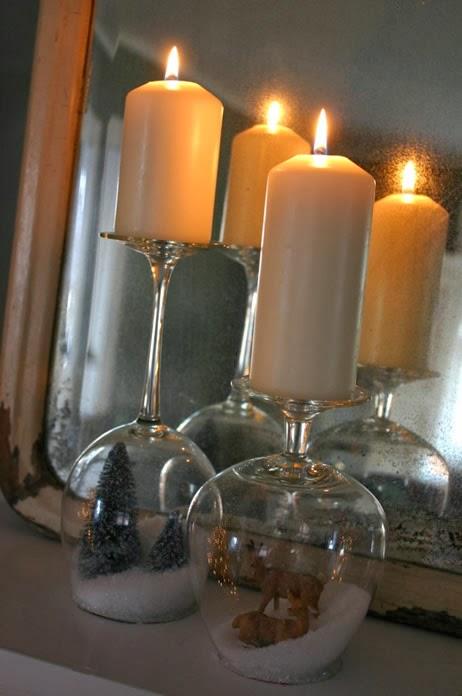 Ideia com velas