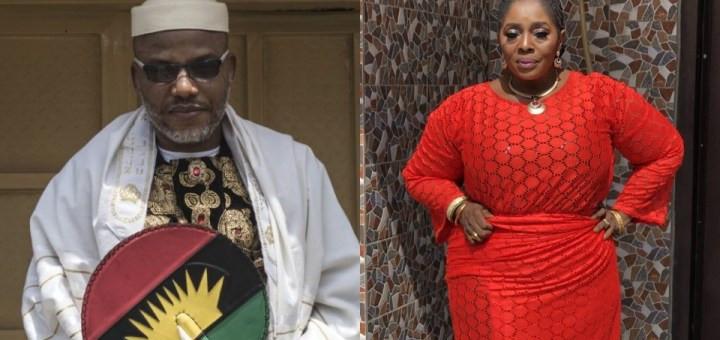 Free Nnamdi Kanu now to avoid had I know - Actress Rita Edochie says