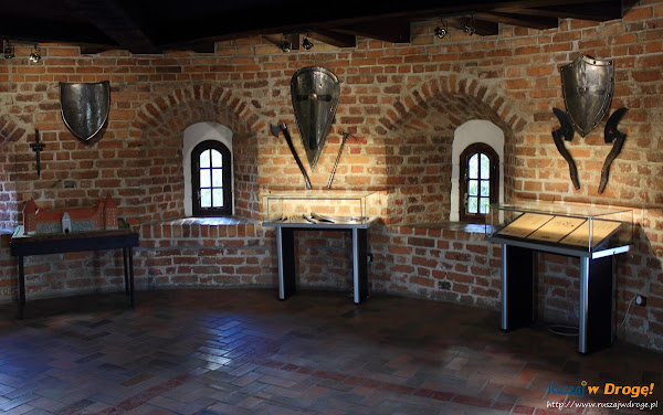Zamek w Bytowie - wystawa w muzeum zamkowym