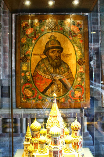 St Basil's Cathedral gold miniature
