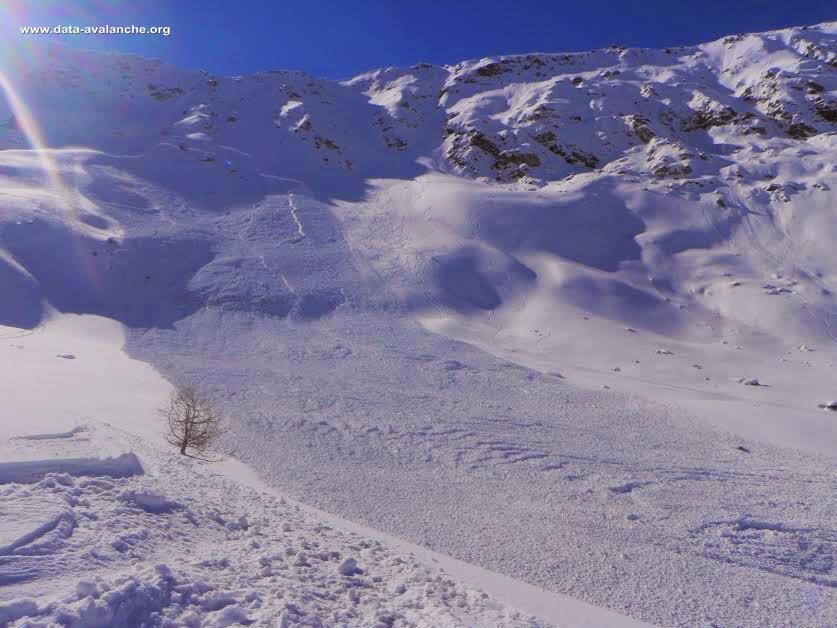Avalanche Vanoise, secteur Sommet de Bellecôte, La Plagne - Les Rodzins - Photo 1