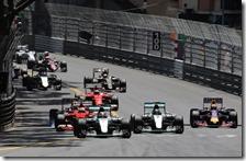 Partenza gran premio di Monaco 2015