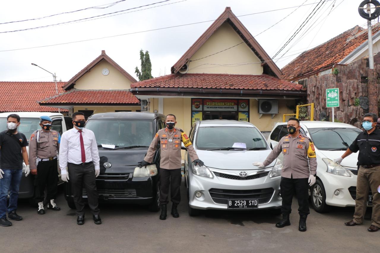 Polres Cirebon Kota Polda Jabar Berhasil Tangkap Pencuri Mobil Antar Kota Provinsi
