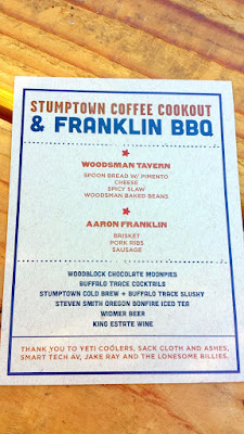 Aaron Franklin's Stumptown Coffee Cookout at Feast 2015