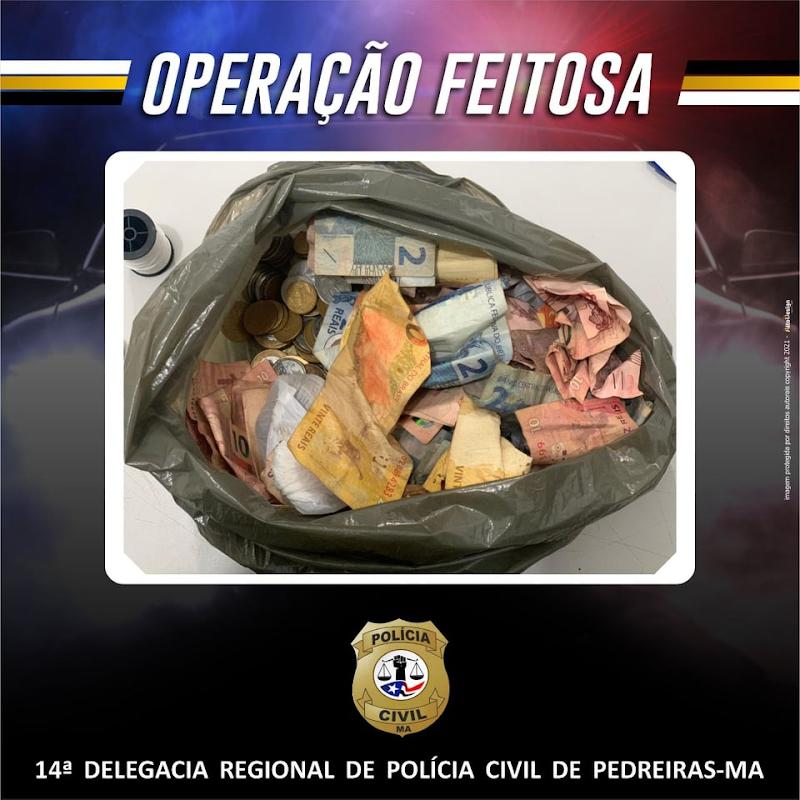 Polícia prende 06 pessoas por tráfico de drogas em Pedreiras-Ma