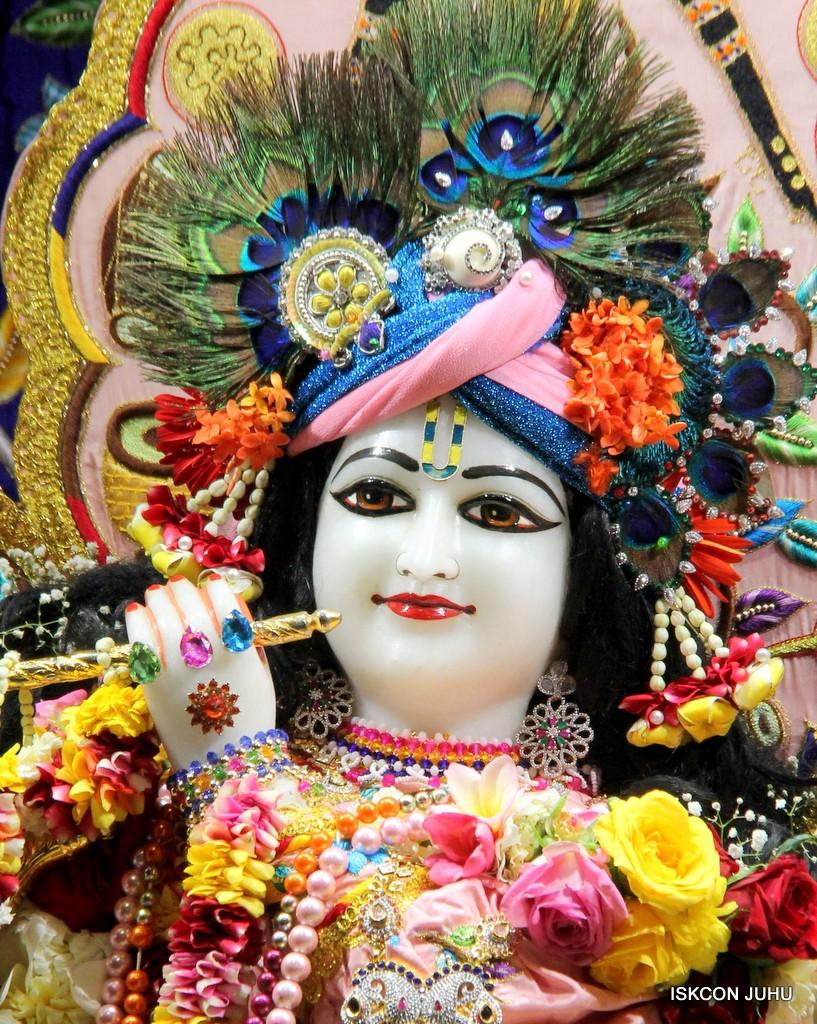 ISKCON Juhu Sringar Deity Darshan 10 Jan 2017 (44)