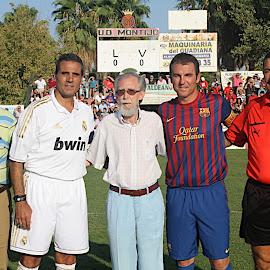 Partido solidario R. Madrid - Barça
