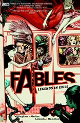 6. Fables Vol 1 Legends in Exile