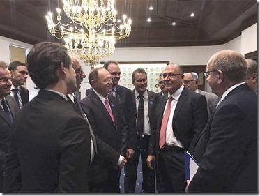 Benes Leocádio e presidentes de federações dos municípios de todo Brasil se reúnem com Governador de São Paulo (1)