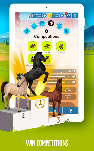 Howrse - free horse breeding farm game 4.0.5 screenshots 13