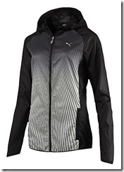 Puma Packable hooded running jacket