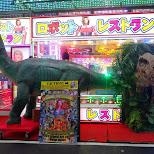 dinosaurs at the Robot Restaurant in Kabukicho in Kabukicho, Tokyo, Japan
