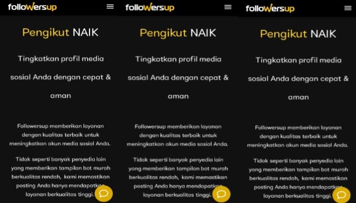Followersup.co tingkatkan pengikut sosial media kamu dengan cepat dan aman