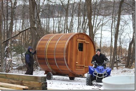 sauna delivery 4