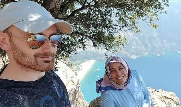 التقط سيلفي مع زوجته ثم رماها من قمّة الجبل وهي حامل