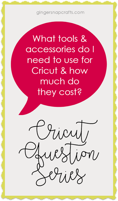 Cricut Question Series at GingerSnapCrafts.com Question #2