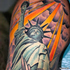 statue of liberty tattoo - tattoos for men
