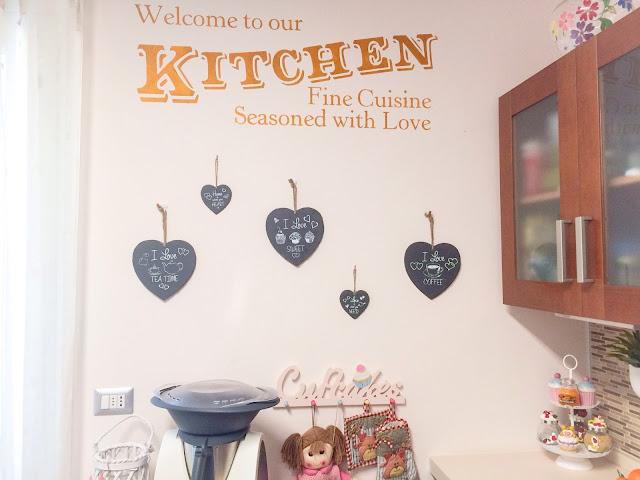 La mia craft room: E in cucina spuntano i cuori...