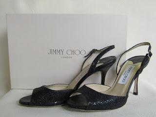 Jimmy Choo Sparkle Slingbacks