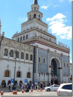 Moscou gare de Kazan
