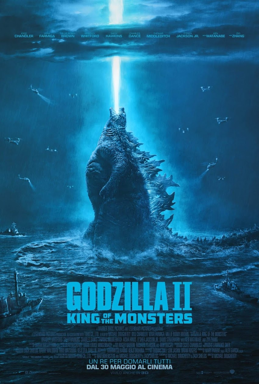 Godzilla II: King Of The Monsters, dal 30 Maggio al cinema