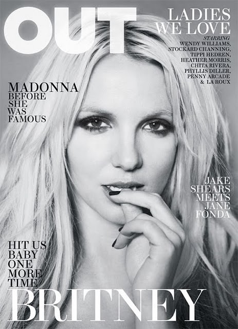 britney spears out magazine cover. [MAGAZINE COVER] Britney Spears (OUT)