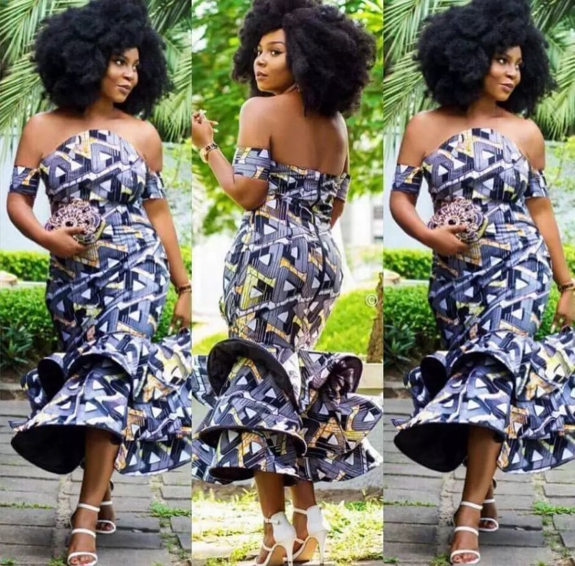 ANKARA STYLE PLANS FOR WEDDING LADY GUESTS IN 2019 5