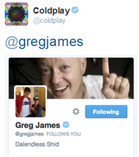 'Coldplay on Twitter_ _gregjames coldplay