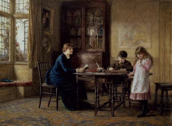 Helen Allingham - Lessons