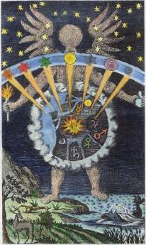 From Giambattista Della Porta Magia Naturalis Nuremberg 1680, Alchemical And Hermetic Emblems 2
