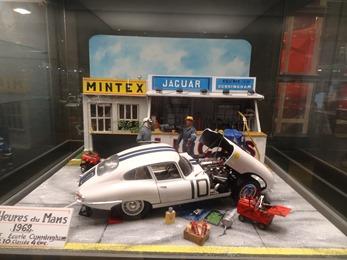 2018.07.02-088 maquette 24 heures du Mans 1962 Jaguar