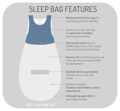 Merino sleeping bag