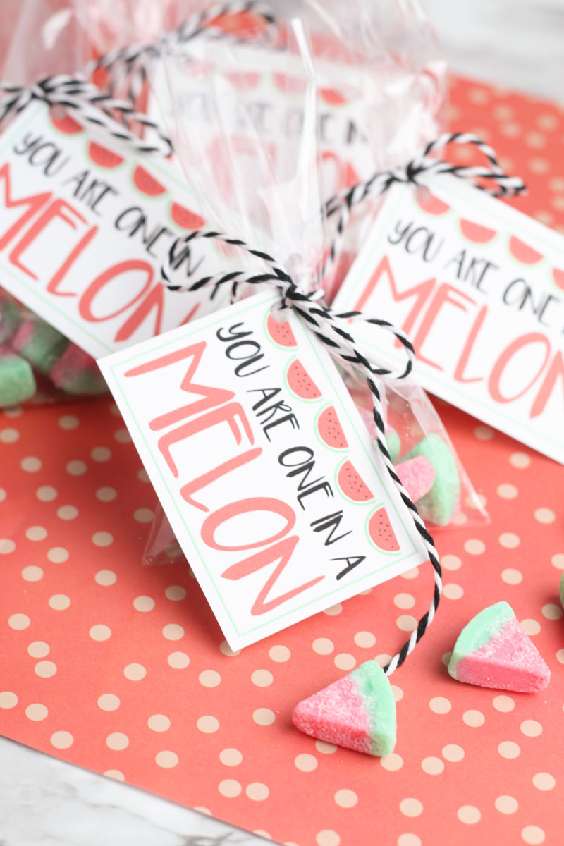 Melon valentine card