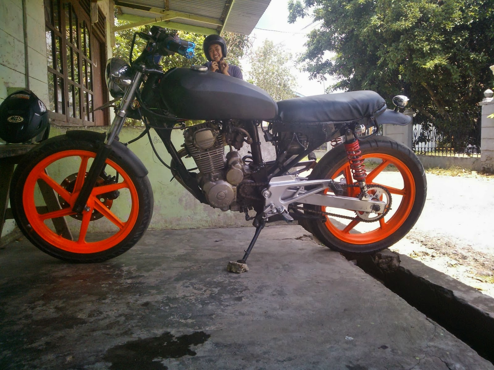 honda tiger modifikasi cb