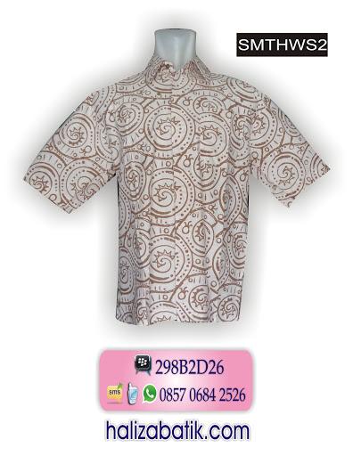 model baju batik kantor, baju batik pria, baju batik