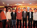 左起:彭志光、陳志佳、陳輝洪、梁孔德、羅傑承、黃錫林、鄧鏡威