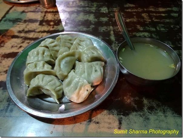 Dinner at Reckong Peo