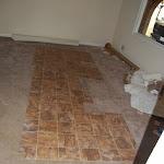 Rental House Bathroom Floor