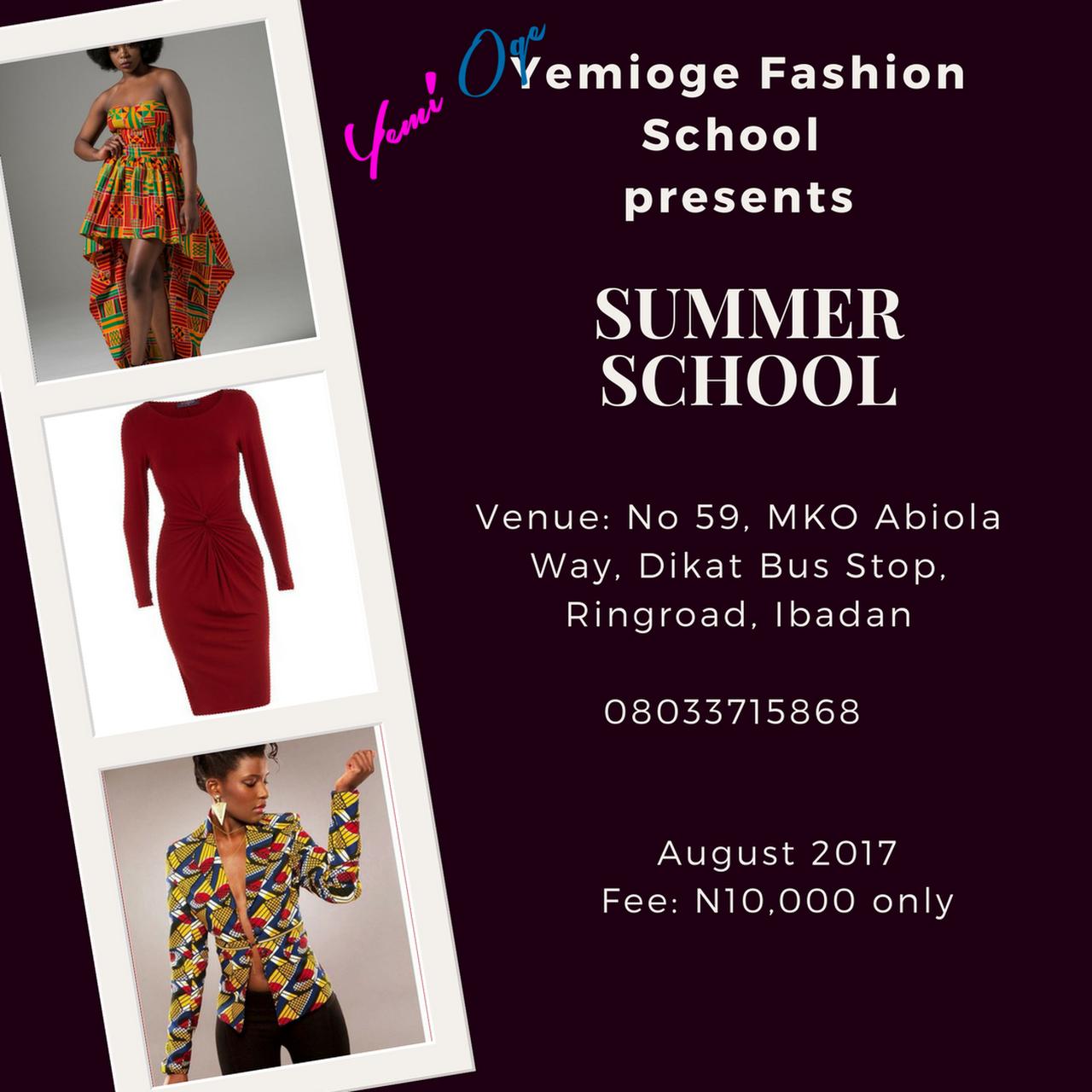 Best Fashion School In Ibadan School Style
