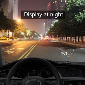 Head Up Display, proiectie afisaj bord pe parbriz, A200