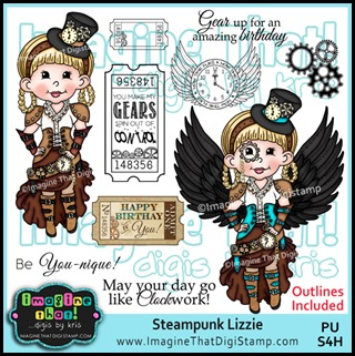 Imagine That Dbk - PROMO Steampunk Lizzie