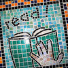 Kenston Intermediate School Fine Arts Festival Mosaic Project